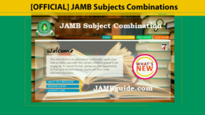 JAMB 2019 And Beyond Subject Combinations