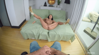 21 Years Old Canadian Pussy. Pov