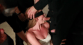 Blindfolded Teen Gets Deepthroated By A Group Of Masked Men