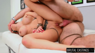 Sexy Petite Babe Bent Over And Hammered Hard
