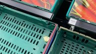 Supermarkets fill empty shelves with CARDBOARD CUTOUTS of fruit and