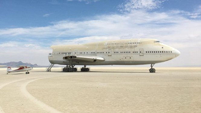 is the 747 art