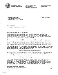 FTB Franchise Tax Board of California said I do not owe