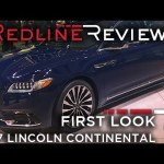 2017 Lincoln Continental – Redline: First Look – 2016 Detroit Auto Show