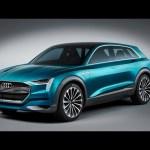 Audi e-tron quattro concept revealed at Frankfurt IAA 2015