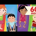Head Shoulders Knees & Toes + More   Nursery Rhymes   Super Simple Songs