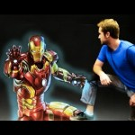 Iron Man's Armor – 3D Chalk Art Animation!
