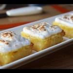 Lemon Bars – Easy Lemon Meringue Bars Recipe