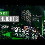 Microsoft Xbox E3 2015: INFO BLOWOUT