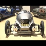 Morgan EV3 world premiere: Geneva motor show