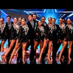 The Ystrad Fawr Dancers do Wales proud | Auditions Week 4 | Britain's Got Talent 2016