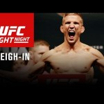 UFC Fight Night Boston: Official Weigh-in