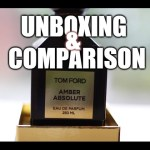 UnboXing & Comparison: TOMFORD Amber Absolute (2015 Limited Edition)