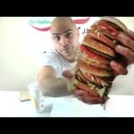 تحدي اكل اكبر برجر عملاقة بيج ماك من ماكدونالدز في اقل من 3 دقائق 5000 سعرة حرارية   التحدي الأكبر 