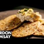 Leek Flatbreads with Ricotta and Lemon – Gordon Ramsay