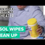 Admiring Review of Lysol Wipes Re-enacted – Internet Comment Theater
