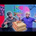 تحدي أكل بيتزا ضد بدر !!!