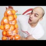 تحدي اكل 5 كيلو من البرتقال (اليوسفي) في وقت قصير جدا  التحدي الأكبر 