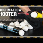 Cardboard Tube Marshmallow Shooter