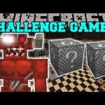 Minecraft: CYBER DEMON CHALLENGE GAMES – Lucky Block Mod – Modded Mini-Game