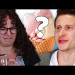 People Try Mystery Flavored Flash Frozen Ice Cream