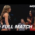 Allie's First-Ever PPV Match vs Gail Kim (Knockouts Knockdown 2015) | IMPACT Wrestling Full Matches