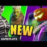 Fortnite Fortnitemares Update | New Halloween Skins | Pumpkin Launcher | Fortnite Battle Royale