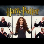 HARRY POTTER THEME SONG ACAPELLA (Ft. Rosanna Pansino)