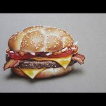 McDonald's McHeaton burger – Hyperrealistic art | CreativeStation GM