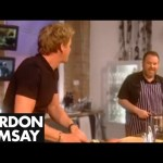 Perfect chips with Chris Moyles – Gordon Ramsay