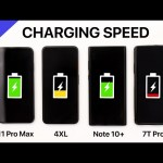 iPhone 11 Pro Max VS Pixel 4 XL VS Note 10+ VS OnePlus 7T Pro – Battery FAST CHARGING Test!