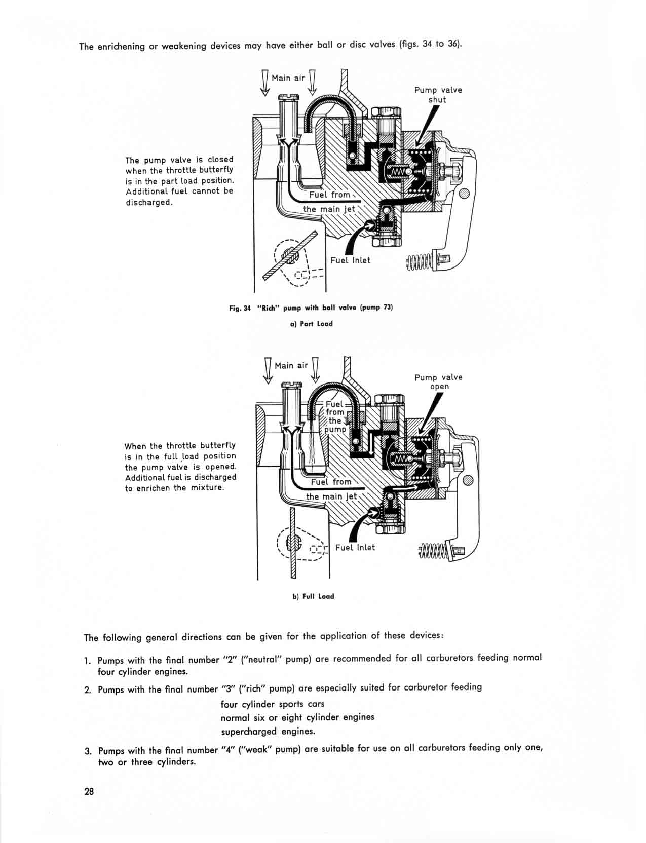 Obsolete Air Cooled Documentation Project Solex Selection And Tuning Of The Carburetor