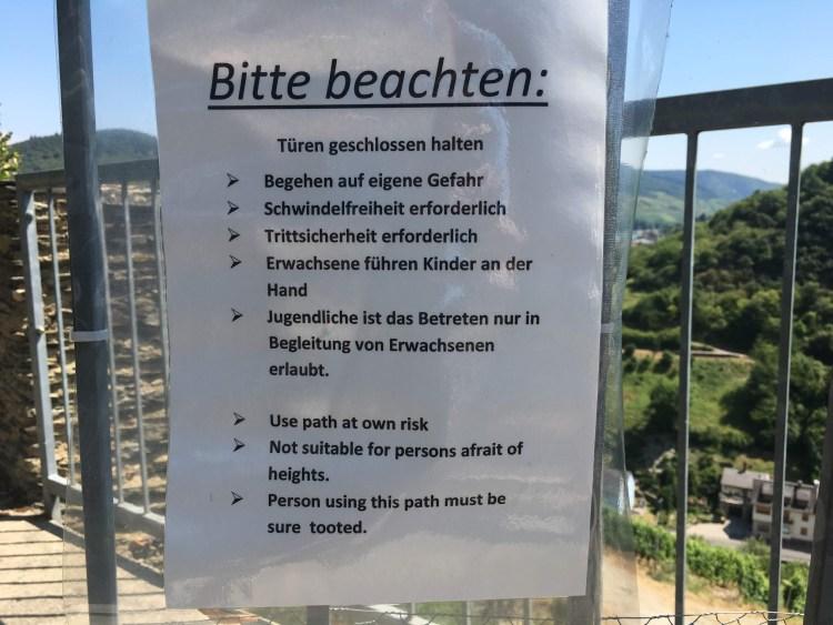 Castle Fürstenberg sure tooted