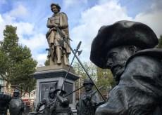 Amsterdam Rembrandt memorial