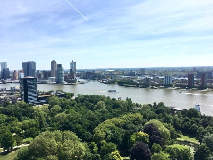 Rotterdam Euromast view