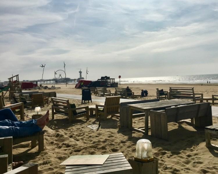 Hague beach