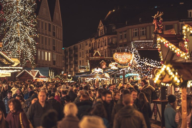 life in Germany Christmas markets