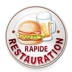 restauration rapide snack boissons