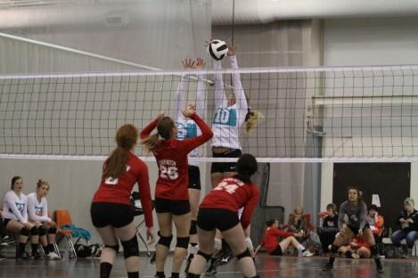 Oahe Elite volleyball 16s in Jamestown - Ashton Smith