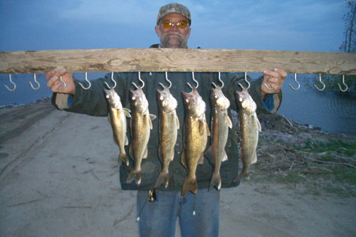 Spring walleye fishing south dakota walleye fishing guide for Lake thompson sd fishing report