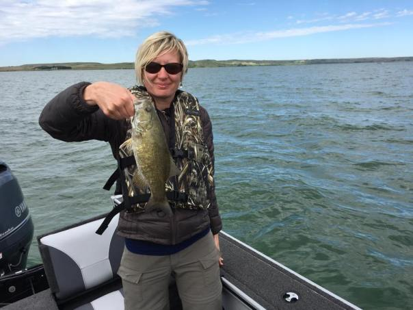 Small mouth bass, West Bend Recreation Area