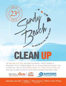 Sandy Beach Cleanup @ Sandy Beach | Honolulu | Hawaii | United States