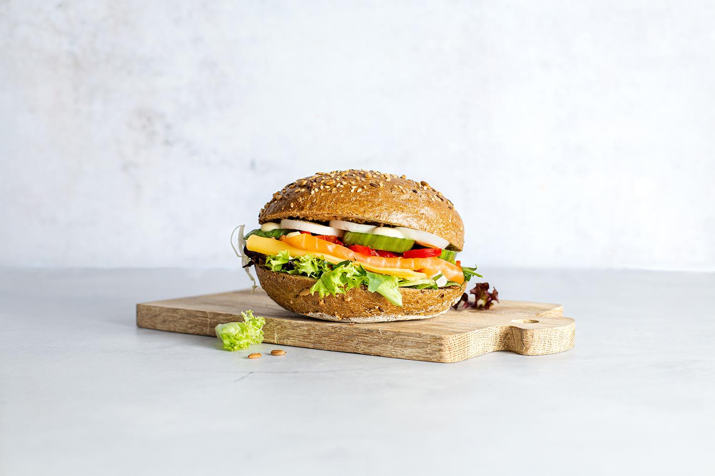 Sandwich foodstyling