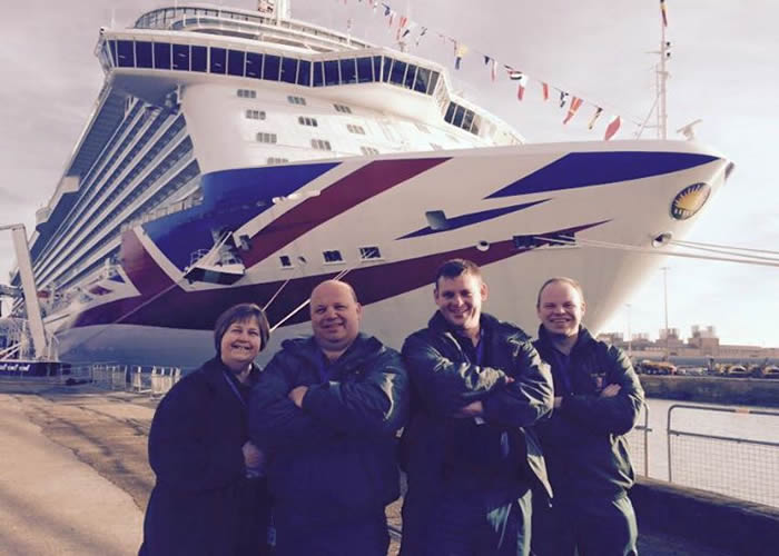Britannia Naming Ceremony