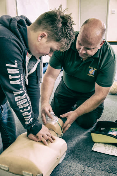 Fire & First Aid Training Skipton, North Yorkshire