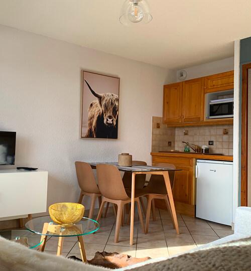 L'espace cuisine du Kodiac avec tout tout le nécessaire pour faire la cuisine
