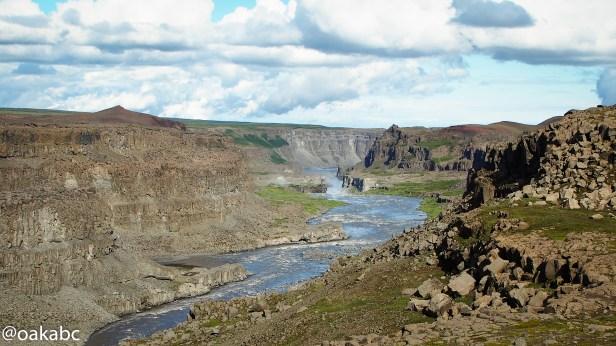 แม่น้ำจาก Dettifoss