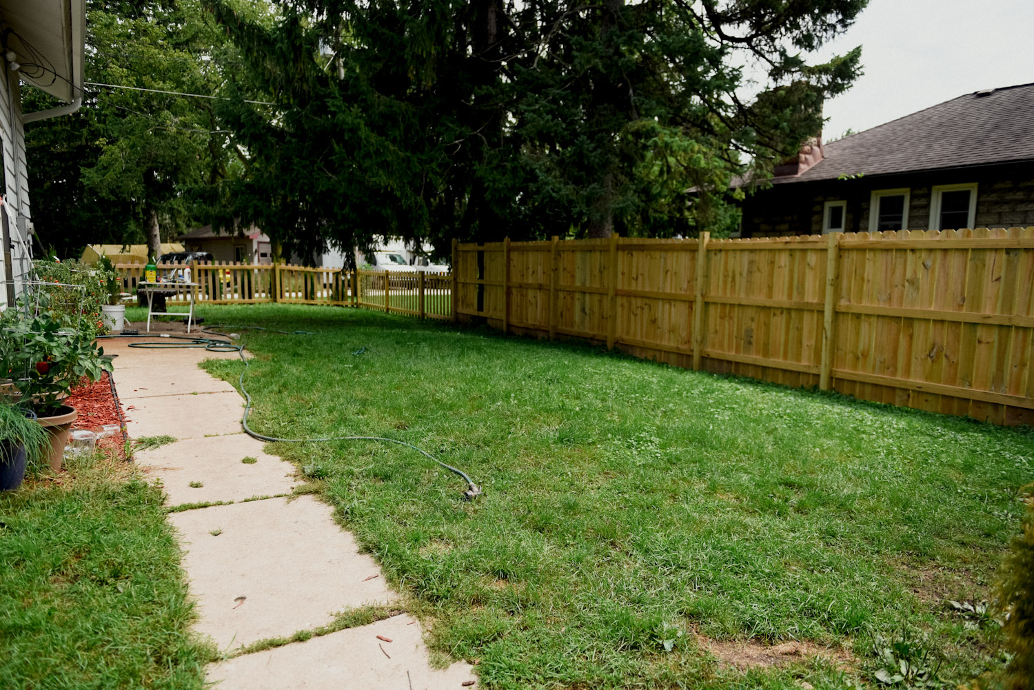 Fence Building Basics for a Wood Privacy Fence - Oak Abode