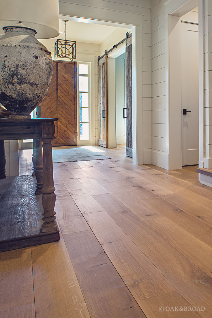 Nashville Tennessee Wide Plank White Oak Flooring