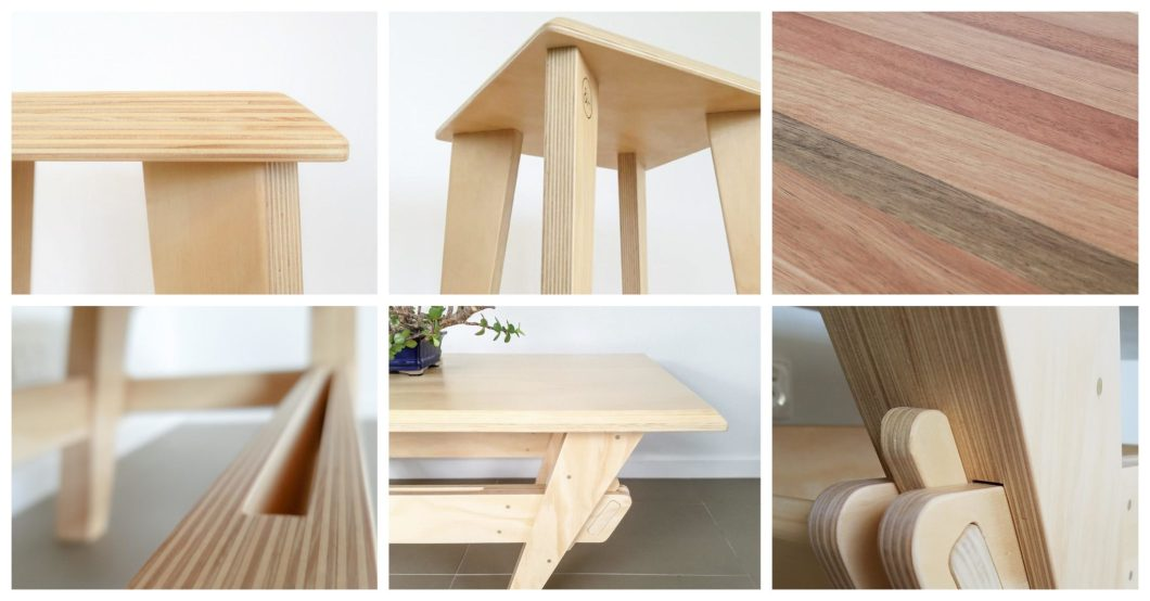 A Collection of Sustainable Oak & Hide Products